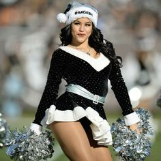 A cheerleader for the Oakland Raiders, identified as only Lacy T for security purposes, has sued the team, stating she is underpaid. Oakland Raiders Logo, Nfl Raiders, Raiders Cheerleaders, Hottest Nfl Cheerleaders, Dallas Cheerleaders, Cheerleading, Raiders Players, Raiders Girl, Professional Cheerleaders