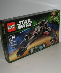 Lego's 75018 kit is Star Wars Jek-14's Stealth Starfighter. Minifigures include Bounty Hunter, Special Forces Clone Trooper, Jek-14 and R4-G0. Free U.S & Canadian shipping.  #starwars #lego #starwarslego $149.95