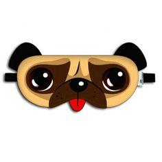 Máscara de Dormir Cachorro - R$ 20,00