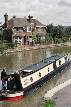 Norton Junction - Grand Union Canal, Northamptonshire, England.