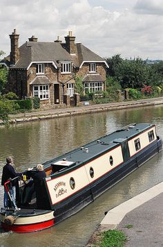 Norton Junction - Grand Union Canal, Northamptonshire, England.