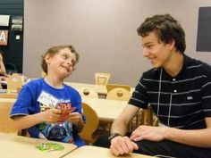 free public library reading enrichment program where teen mentors work with younger students