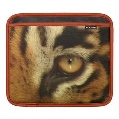 Eye of Tiger Big Cat Wildlife iPad Sleeve