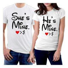 45b711af Couple T Shirt Design, Matching Outfits, Matching Clothes, Couple Shirts,  Couple Quotes