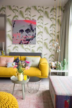 Casinha colorida: Decoração na moda: estilo tropical