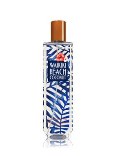 Bath & Body Works WAIKIKI BEACH COCONUT Fragrance Mist 8 oz Welcome to paradise! Lavishly splash or lightly spritz your favorite fragrance, either way you'll fall in love at first mist! This carefully crafted bottle and sophisticated pump delivers great c Bath Body Works, Bath And Body Works Perfume, Bath N Body, Perfume Diesel, Bath And Bodyworks, Fragrance Mist, Fragrance Finder, Body Mist, Packaging
