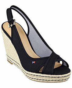 e99e9173002ca Tommy Hilfiger Women s Papina Espadrille Platform Sandals Shoes - Sandals   Flip  Flops - Macy s