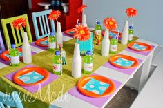 Décor at a Scooby Doo Party #scoobydoo #partydecor
