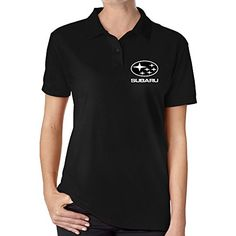 ZYXwanzi Womens Car Logo Polo Shirt * Click image to review more details.