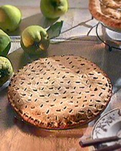 Mock Mincemeat Pie Bon Appétit Old-fashioned mincemeat contained tiny ...