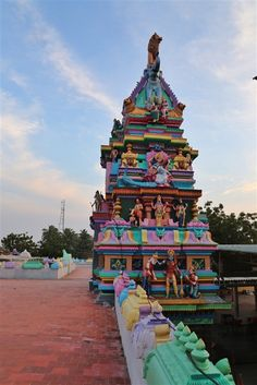 Lakshmi Narasimha Temple, located in the coastal town of Antarvedi in East Godavari District of Andhra Pradesh, is one of the most important temple in the entire region. India Asia, Indian Art, Temple, Coastal, Around The Worlds, Holiday Decor, Hinduism, Indian Artwork, Indian Paintings