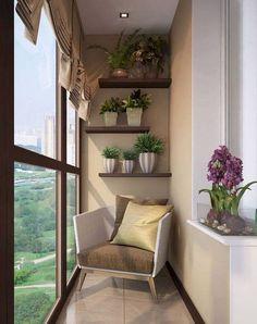 52 very small balcony design ideas for your apartment - Sylvie Turgeon-Young - Kleiner Balkon - Balcony Furniture Design Indoor Balcony, Small Balcony Decor, Small Balcony Design, Modern Balcony, Small Terrace, Terrace Design, Balcony Ideas, Apartment Balcony Decorating, Cozy Apartment