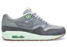 Nike Air Max 1 ND - Mine Grey / Mercury Grey - Flash Lime