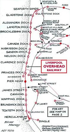 The docks in liverpool - the dockers umbrella