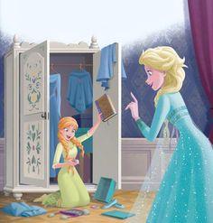 Sailor Princess, Disney Princess Frozen, Disney Princess Drawings, Disney Princess Pictures, Frozen Elsa And Anna, Disney Pictures, Frozen Pictures, Elsa Anna, Disney Princesses