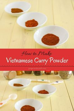 Make your own homemade Vietnamese curry powder from scratch and use it for soups, stews, and marinades.