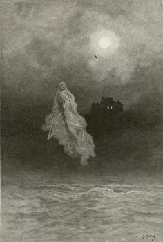 Gustave Doré's Hauntingly Beautiful 1883 Illustrations for Edgar Allan Poe's…