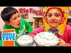 Cara Splash o Pie Face. Juego de tartazos con Andrea! - YouTube