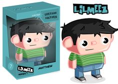 Custom Vinyl Toy Cartoon Caricature from Cartoon Factory. For only $10 turn yourself into a cartoon!