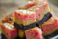 Neapolitan Gooey Brownies  (Vegan)