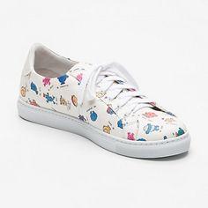 Sneakers Alex Twins for Peace x Monsieur Madame  blanc et multicolore