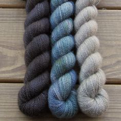 Into the Void, Obsidian, Sage Brush - Sojourn Cowl Set - Babette