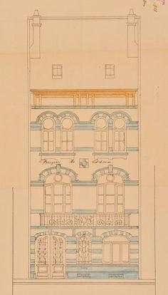 Schaerbeek - Avenue Albert Giraud 95, 97 - VELDEMAN Guillaume