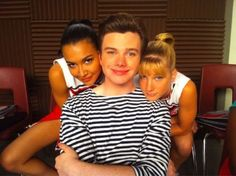 Discovered by Dee. Find images and videos about glee, naya rivera and kurt on We Heart It - the app to get lost in what you love. Chris Colfer, Glee Santana And Brittany, Naya Rivera Glee, Heather Morris, Glee Club, Star Wars, Dianna Agron, Cory Monteith, Darren Criss