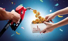 banking poster Caltex bonus point on Behance Creative Banners, Ads Creative, Creative Posters, Creative Advertising, Banks Ads, Commercial Ads, Street Marketing, Creative Instagram Stories, Ad Design