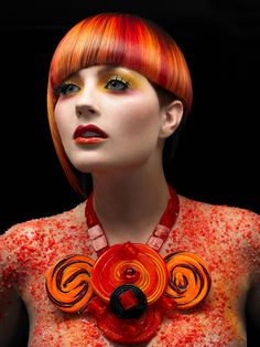 Color collection by Matrix Artistic Director Chrystofer Benson. #haircolor
