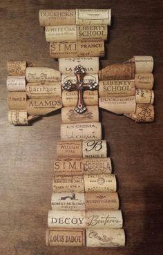 Wine Craft, Wine Cork Crafts, Wine Bottle Crafts, Wine Bottle Corks, Crafts With Corks, Bottle Candles, Wine Cork Coasters, Wine Cork Wreath, Bottle Caps