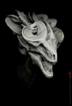 ZBrush dragon, created by Damir. http://www.damirgmartin.com/about.html    I'm studying ZBrush... and I've got a long way to go before I'm able to create works on this level.