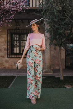 New wedding guest outfit spring pants floral prints ideas Mom Outfits, Spring Outfits, Cute Outfits, Wedding Guest Pants, Look Fashion, Fashion Outfits, Fiesta Outfit, Elegant Outfit, Trendy Wedding
