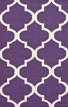 Found it at Wayfair - Marbella Moroccan Trellis Purple Kilim Rug Contemporary Rugs, Modern Rugs, Purple Bedrooms, Mauve Bedroom, Trellis Rug, Trellis Pattern, Childrens Rugs, Purple Kitchen, Purple Area Rugs