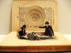 Papier in de herkansing: Art with books, Kylie Stillman, bookcarving