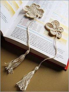 Solountip.com: Marcadores para libros a crochet