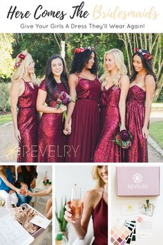 Revelry Dresses is your go to for custom made, designer quality, mix and match dresses that you'll wear again, all at a guilt free affordable price. We cater to everyone with sizing from 0 to 32, four lengths, and a variety of colors and fabrics, from lace and tulle to chiffon and sequins and everything in between! Break out the drinks and make a night of it with your girls and our Try On sample boxes, where you can check sizing and color to make sure everything is perfect for your special…