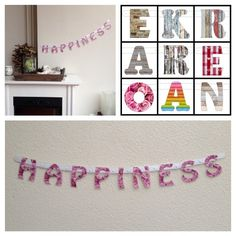Happiness, interieur slinger