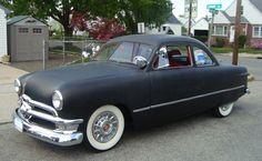 Flat black shoebox - 1950 Ford
