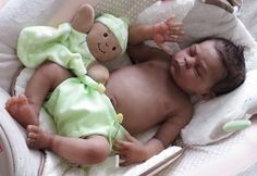 AA Alejandro a Full Body Silicone Baby Sculpted & Reborn by Laura Tuzio-Ross                                                                                                                                                      More