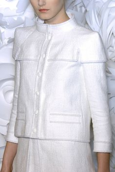 jacket chanel      Chanel HC SS 09 details