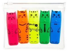 A meow-some set of highlighters. | 31 Ridiculously Awesome And Inexpensive Things To Ask For This Year