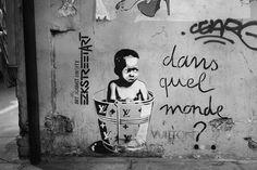 Dans quel monde Vuitton ? #streetart
