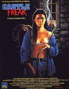 Castle Freak (1995) movie poster (US)