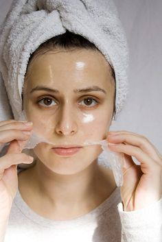 DIY Skincare Make your own Natural Face Peels in minutes! Via #bblog #naturalbeautyauthority.com