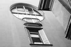 Edificio per abitazioni e uffici, arch.Luigi Caccia Dominioni  via Catena 4, Milano (Foto di Mattia Morandi)
