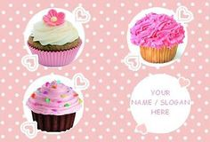 Personalised #cupcake glass #chopping #board,  View more on the LINK: http://www.zeppy.io/product/gb/2/151976562542/
