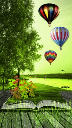 Beautiful Picture Of Nature vs Hot Air Balloons Foto Gif, Gif Photo, Beautiful Gif, Beautiful Places, Beautiful Pictures, Air Balloon Rides, Hot Air Balloon, Gif Pictures, Nature Pictures