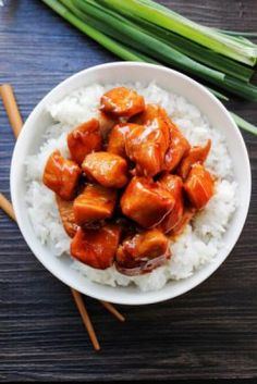 Make Cajun Cafe Bourbon Chicken just like you find in many malls. Best Chicken Ever, Sunday Recipes, Dinner Recipes, Bourbon Chicken, Dinner Dishes, Main Dishes, Low Sodium Soy Sauce, Asian Recipes, Ethnic Recipes
