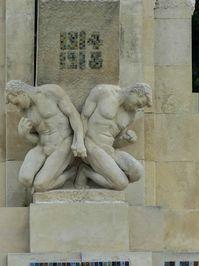 Les jardins de l'abbaye à Vierzon